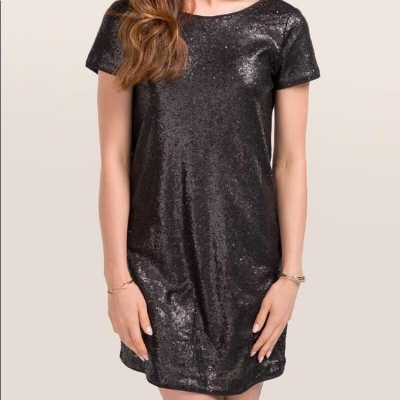 Francesca's Collections Dresses & Skirts - Francesca's Black Sequin Party Dress